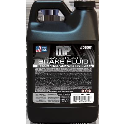 Heavy-Duty DOT 3 Brake Fluid