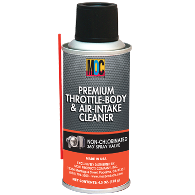Premium Throttle-Body & Air-Intake Cleaner