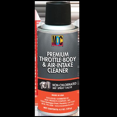 Premium Throttle-Body & Air-Intake Cleaner